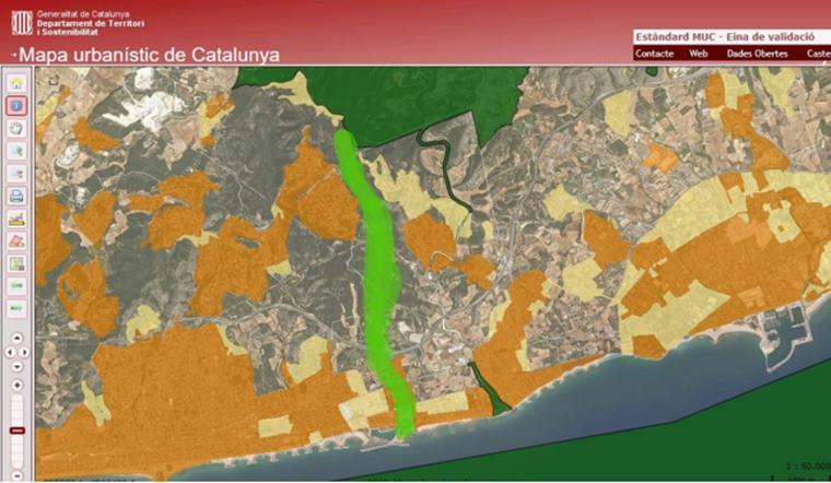 un corredor biològic del litoral de Cubelles al Parc del Foix